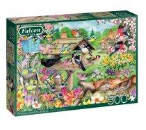 Falcon - 500 darabos - 11280 - Spring Garden Birds