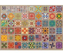 Cobble-Hill - 1000 darabos - 80314 - 50 States Quilt Blocks