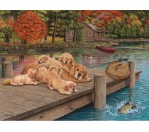 Cobble-Hill - 275 darabos - 88004 - Lazy Day on the Dock