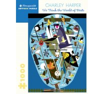 Pomegranate Puzzle - 1000 darabos - AA1056 - Charley Harper - The World of Birds