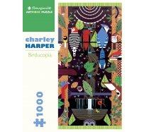 Pomegranate Puzzle - 1000 darabos - AA829 - Charley Harper - Birducopia