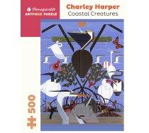 Pomegranate Puzzle - 500 darabos - AA1073 - Charley Harper - Coastal Creatures